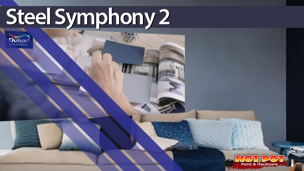 Steel Symphony 2 Dulux Colour of the Year 2017
