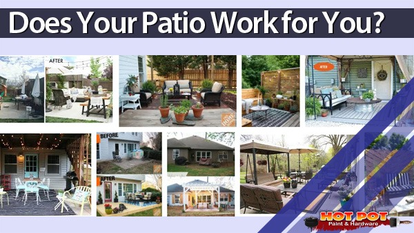 Happy with your patio?